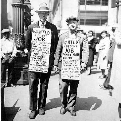 making ends meet during the great depression